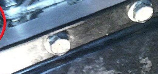 Заливное отверстие для масла в КПП на Дэу Нексия