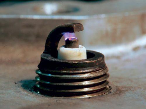 Увеличенный зазор между электродами свечи Дэу Нексия