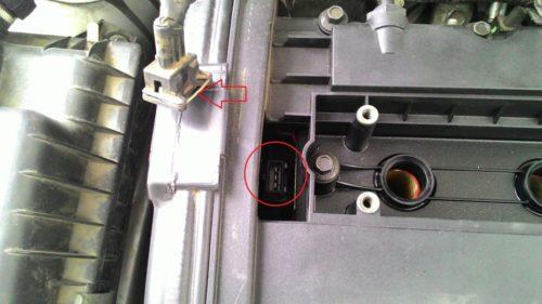 Датчик положения распредвалов в 16 клапанном двигателе Дэу нексия