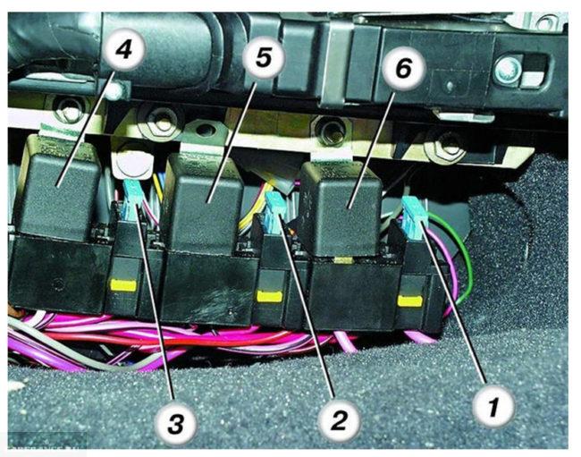 Схема дополнительного блока предохранителей на ВАЗ-2110
