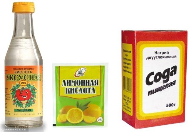 Пищевая сода, уксус и лимонная кислота как средства промывки системы охлаждения ВАЗ-2110
