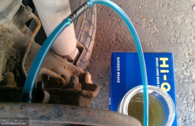 Прокачка заднего тормозного цилиндра Дэу Нексия