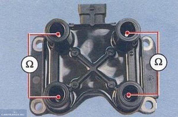 Прозвонка модуля зажигания ВАЗ-2110
