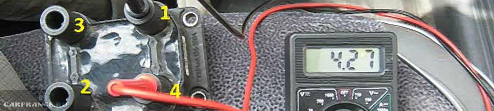 Проверка модуля зажигания на ВАЗ-2110 мультиметром