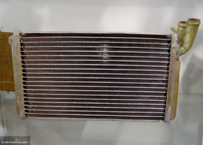 Радиатор печки для ВАЗ-2110 из медного сплава