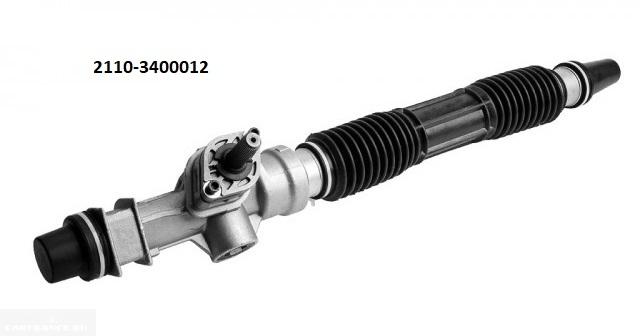 Рулевая рейка нового типа для ВАЗ-2110 без гидроусилителя рулевого механизма