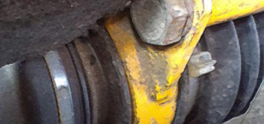 Рулевая рейка ВАЗ-2110 вблизи
