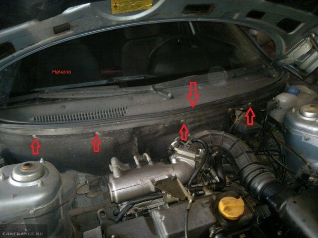 Термо- звукоизоляция моторного отсека ВАЗ-2110