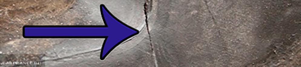 Трещина в бачке омывателя на Дэу Нексия