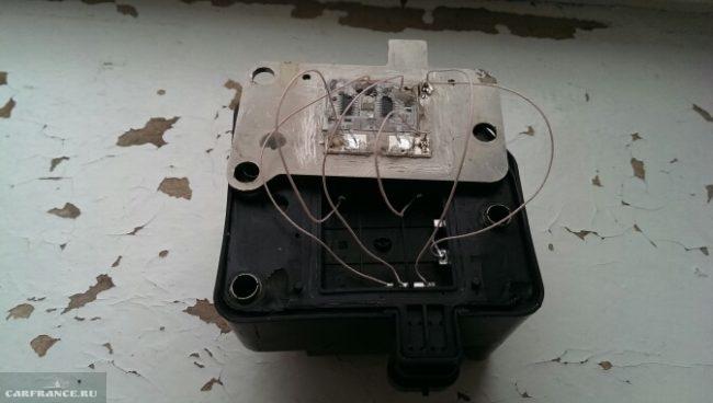 Модуль зажигания ВАЗ-2110 в разобранном виде