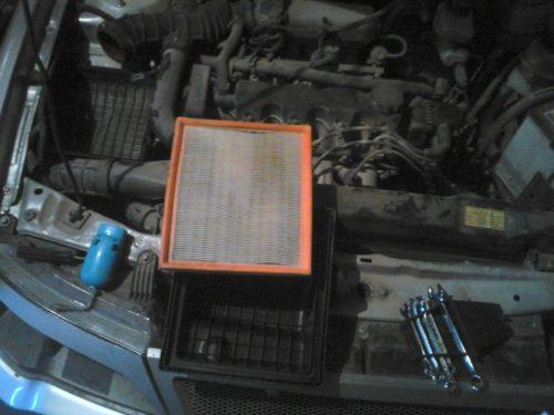 Воздушный фильтр в Дэу Нексия