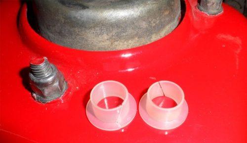 Разрезные втулки оси педали сцепления для автомобиля ВАЗ-2110
