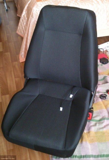 Перетянутое сидение на ВАЗ-2110