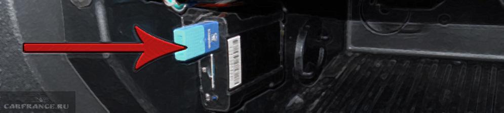 USb адаптер для подключения флешек к магнитоле 6000CD на Форд Фокус 2 в бардачке
