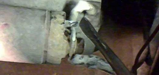 Замыкание стартера отвёрткой на ВАЗ-2110