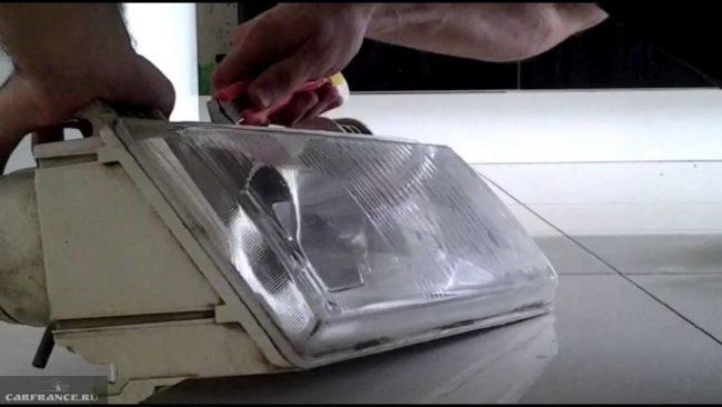 Снятие стекла фары ВАЗ-2110 Киржач