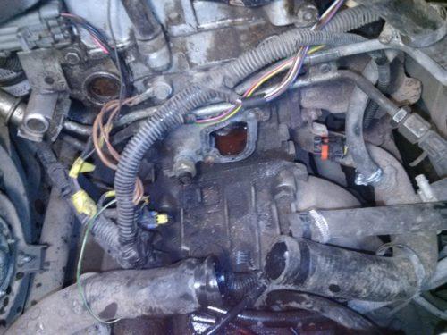 Демонтаж термостата ВАЗ 2110