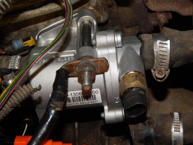 Новый термостат от Гранты под капотом ВАЗ-2110