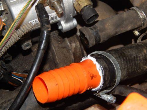 Переходник для системы охлаждения ВАЗ 2110