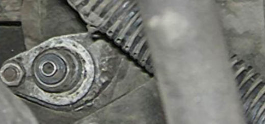 Датчик скорости на ВАЗ-2110 на двигателе
