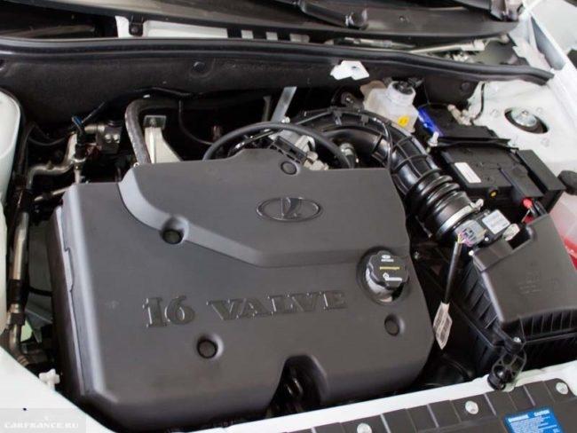 Инжекторный шестнадцати клапанный двигатель для Лада Гранта 2018 года выпуска