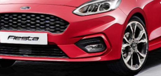 Дизайнерский набросок Форд Фиеста для следующего модельного года