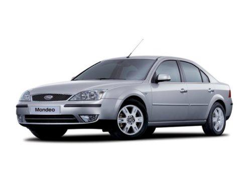 Фото серебристого седана Форд Мондео 2005 года производства