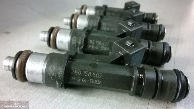 Новые форсунки ВАЗ-2110 производитель БОШ