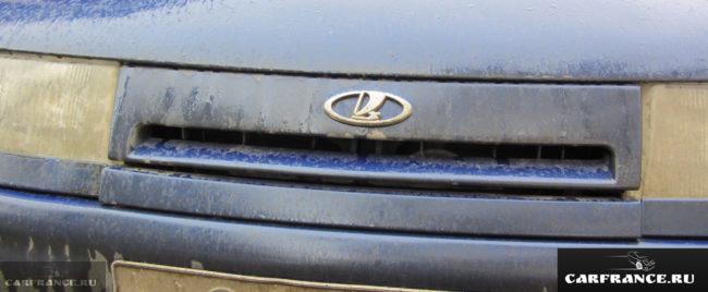 Грязные фары на ВАЗ-2110 авто редакции