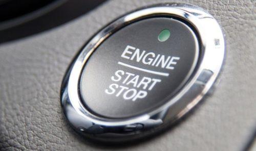 Кнопка запуска двигателя автомобиля Форд Мондео 2018 модельного года