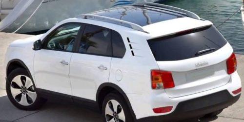 Прототип нового внедорожника Лада 4х4 2018 модельного года