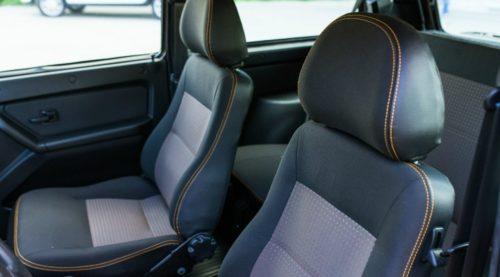 Передние сидения российского внедорожника Лада 4х4 2018 модельного года