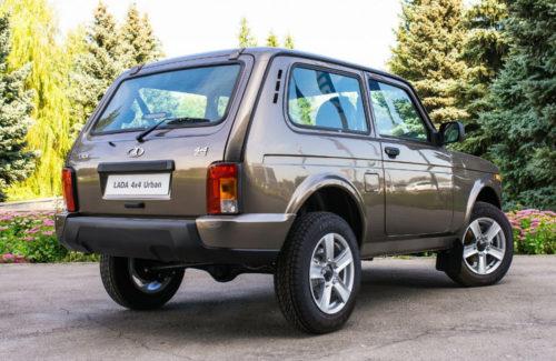 Фото российского автомобиля Лада 4х4 2018 модельного года в версии Урбан