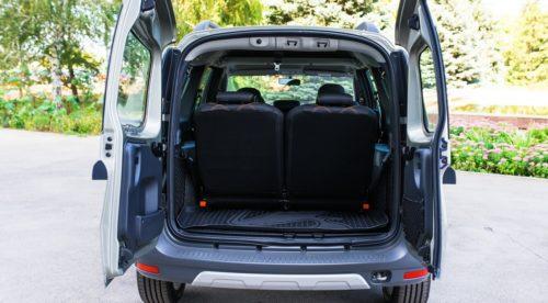 Багажное отделение автомобиля Лада Ларгус Кросс 2018 модельного года