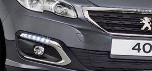 Пежо 408 серый цвет новый кузов 2018 года вид спереди