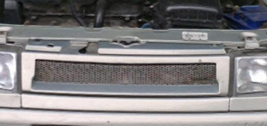 ВАЗ-2110 вид спереди фары, поворотники