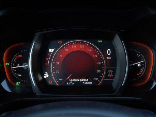 Сесорный дисплей приборной панели автомобиля Рено Колеос 2018 года производства