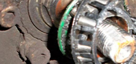Развалился подшипник задней ступицы на ВАЗ-2110