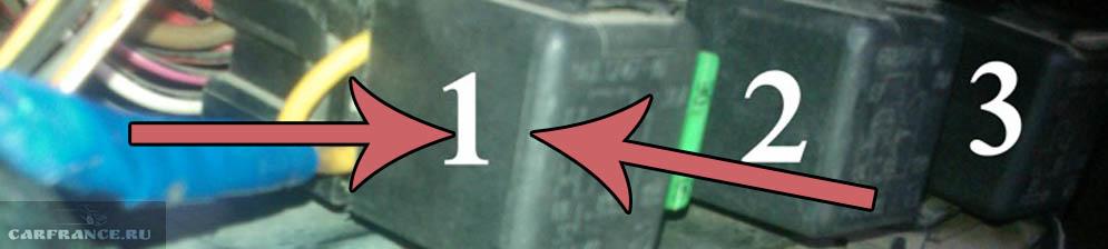 Реле включения вентилятора на ВАЗ-2110