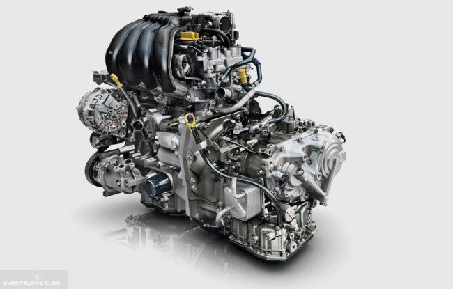 Бензиновый двигатель для кроссовера Рено Каптур 2018 модельного года