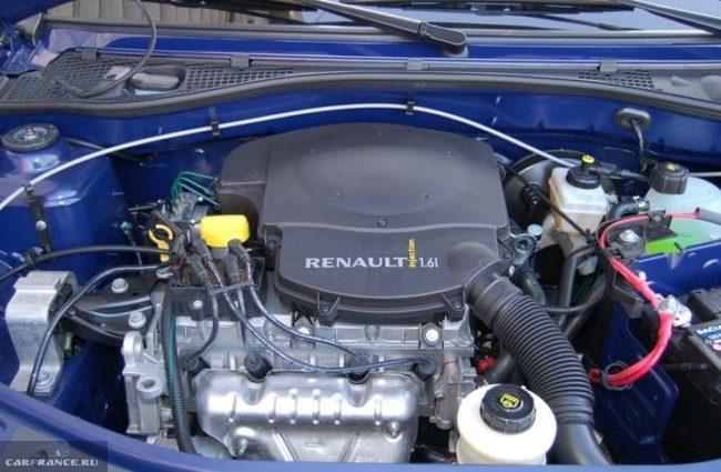 8-клапанный атмосферный двигатель в Рено Логан 2018 модельного года