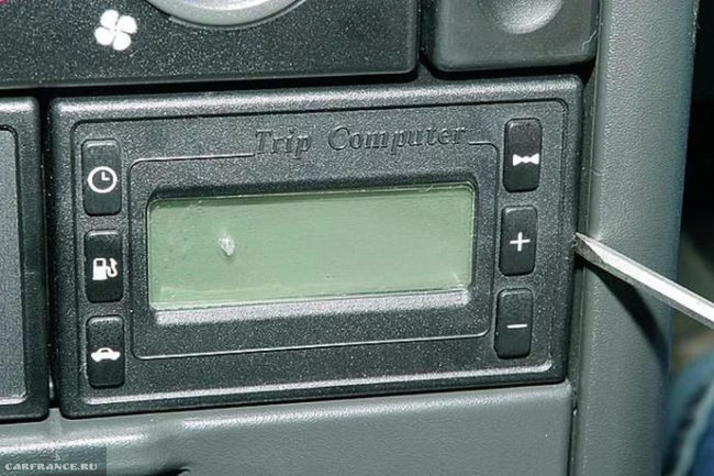 Штатный бортовой компьютер на ВАЗ-2110