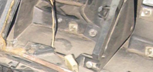 Центральные сопла печки на ВАЗ-2110