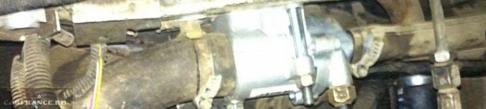 Термостат установлен на ВАЗ-2110 от Гранты