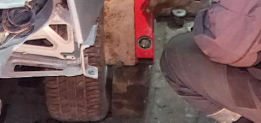 Установка развал схождения в ноль на ВАЗ-2110