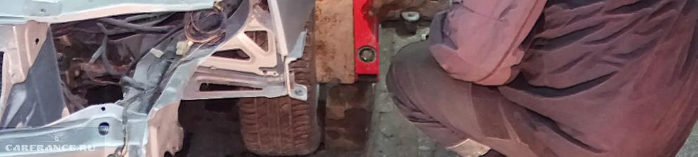 Развал колес на ваз 2110 своими руками 229