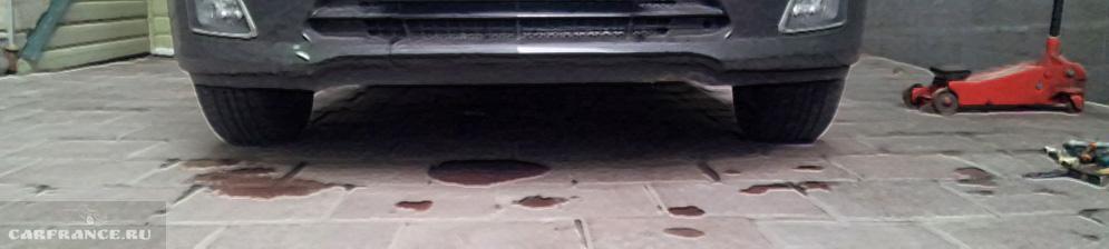 Клиренс автомобиля Шевроле Круз с установленными проставками
