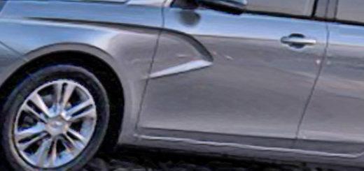 Лада Веста в новом кузове вид сбоку