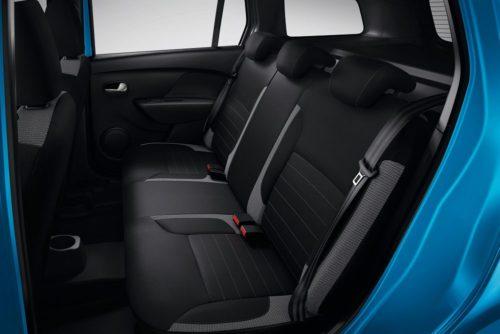 Фото задних сидений автомобиля Рено Сандеро Степвей 2018 года выпуска