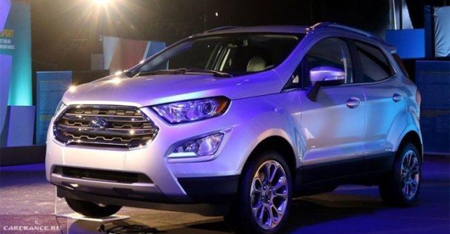 Фото обновленной модели Форд Экоспорт 2018 модельного года
